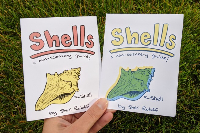 Meet the Zinester_Sheri Roloff_Shells Covers